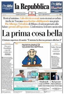 la Repubblica - 6 Aprile 2020