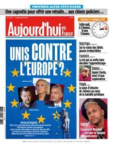 Aujourd'hui en France du Samedi 30 Mars 2019