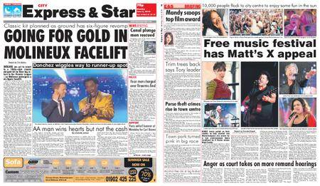 Express and Star City Edition – June 04, 2018