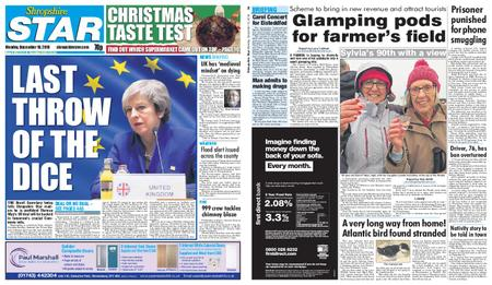 Shropshire Star Shrewsbury Edition – December 10, 2018