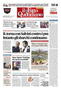 Il Fatto Quotidiano - 27 agosto 2018