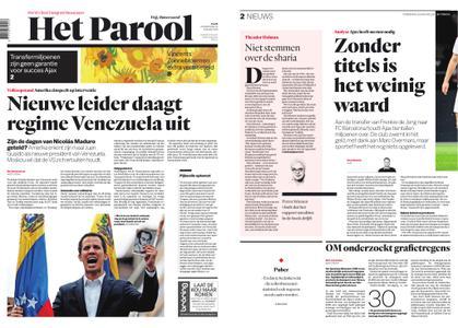 Het Parool – 24 januari 2019