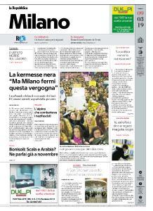 la Repubblica Milano - 9 Marzo 2019