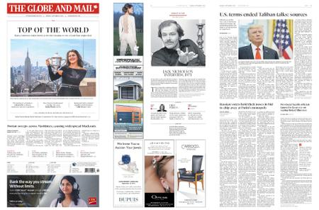The Globe and Mail – September 09, 2019