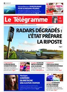 Le Télégramme Brest Abers Iroise – 20 décembre 2020