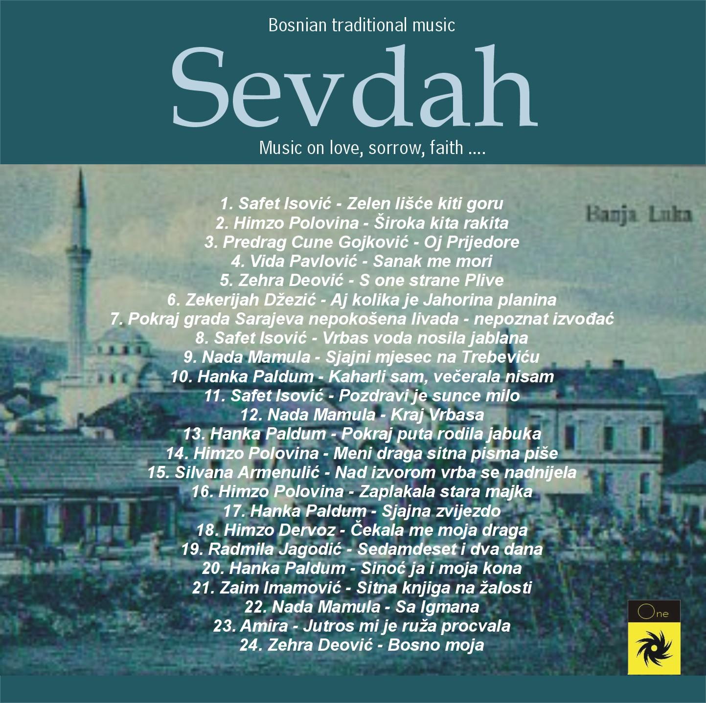 BOSNIAN TRADITIONAL MUSIC 2 - VARIOUS ARTISTS