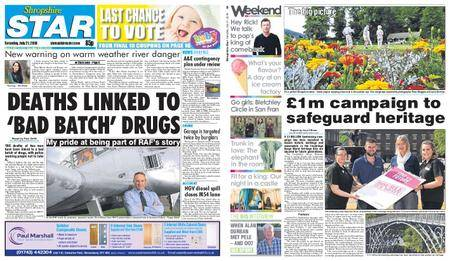 Shropshire Star Shrewsbury Edition – July 21, 2018