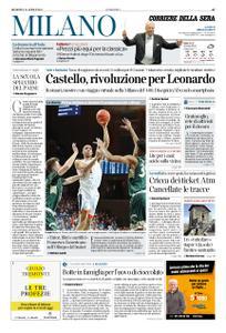 Corriere della Sera Milano – 21 aprile 2019