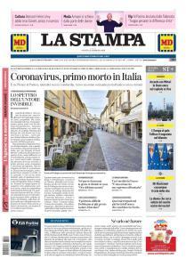 La Stampa Torino Provincia e Canavese - 22 Febbraio 2020