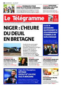 Le Télégramme Auray – 12 août 2020