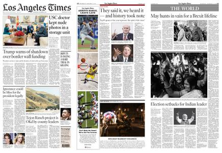 Los Angeles Times – December 12, 2018