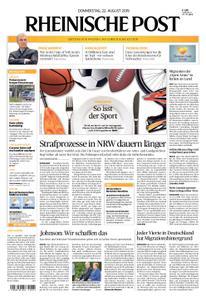 Rheinische Post – 22. August 2019