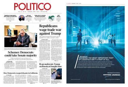 Politico – June 07, 2018