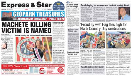 Express and Star City Edition – July 15, 2020