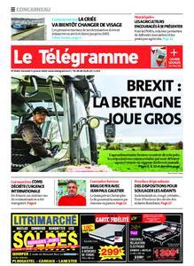 Le Télégramme Concarneau – 31 janvier 2020
