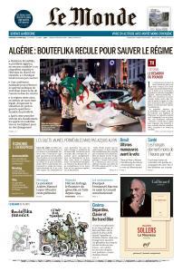 Le Monde du Mercredi 13 Mars 2019