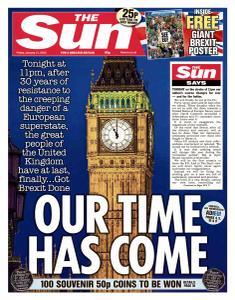 The Sun UK - 31 January 2020