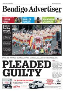 Bendigo Advertiser - April 24, 2019