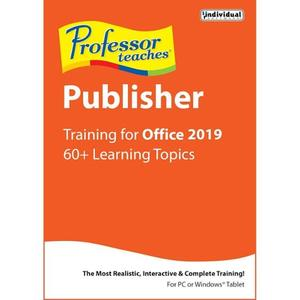 Individual Software Professor Teaches Publisher 2019 v1.0