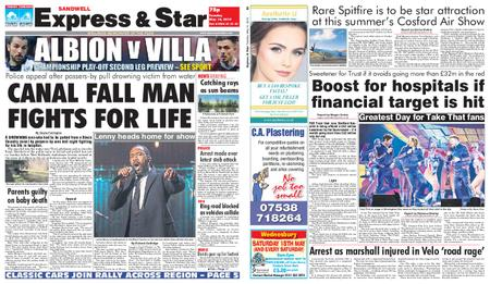 Express and Star Sandwell Edition – May 14, 2019