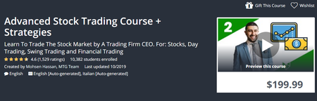 Udemy - Advanced Stock Trading Course + Strategies (2019)