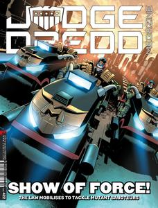 Judge Dredd Megazine 422 2020 digital Minutemen