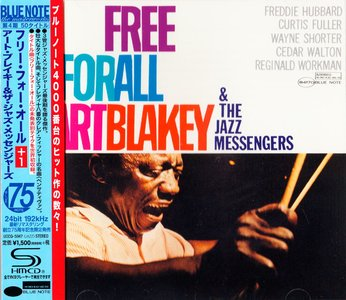 Art Blakey and The Jazz Messengers - Free For All (1964) {Blue Note Japan SHM-CD UCCQ-5047 rel 2014} (24-192 remaster)