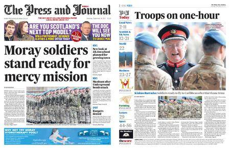 The Press and Journal Moray – September 16, 2017