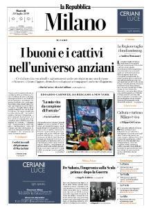 la Repubblica Milano - 30 Luglio 2019