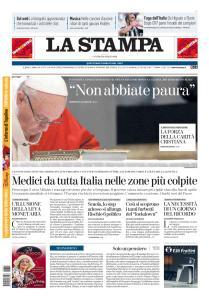 La Stampa Torino Provincia e Canavese - 20 Marzo 2020