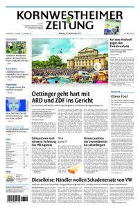Kornwestheimer Zeitung - 18. September 2017