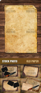 Stock Photo - Old Paper