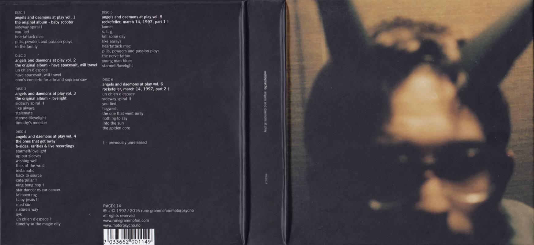 Motorpsycho - Angels and Daemons at Play (2016) [6xCD Box Set]