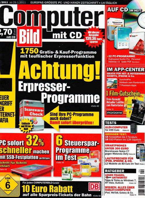 Computerbild Magazin No.04 - 2011