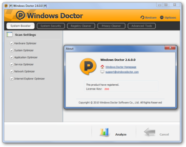 Windows Doctor 2.6.0 Retail Portable