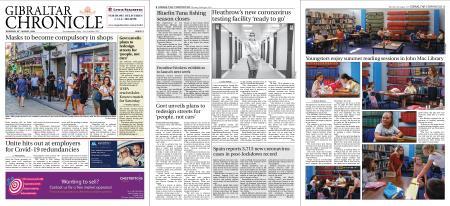 Gibraltar Chronicle – 20 August 2020