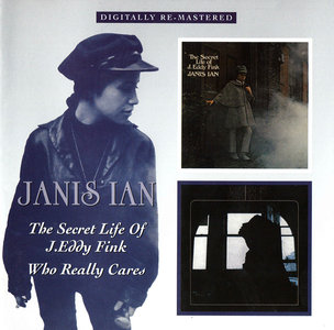 Janis Ian - The Secret Life of J. Eddy Fink (1968) + Who Really Cares (1969) 2 LP in 1 CD, Remastered Reissue 2009 [Re-Up]