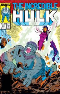 Incredible Hulk 338 1987