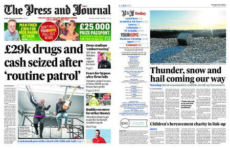 The Press and Journal Moray – January 16, 2018