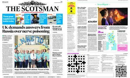 The Scotsman – July 06, 2018