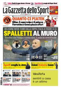 La Gazzetta dello Sport Roma – 01 febbraio 2019