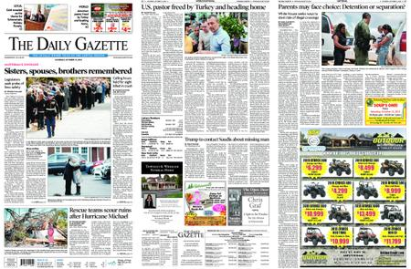 The Daily Gazette – October 13, 2018