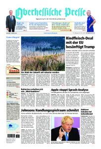 Oberhessische Presse Marburg/Ostkreis - 03. August 2019