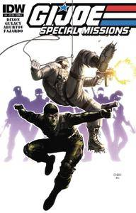 G I Joe - Special Missions 04 2013 two covers