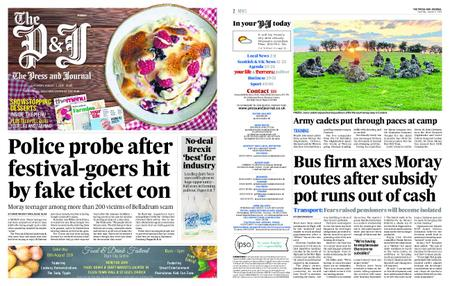 The Press and Journal Moray – August 03, 2019