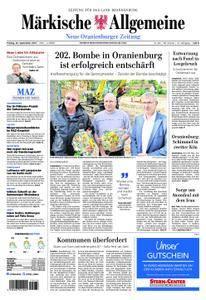 Neue Oranienburger Zeitung - 22. September 2017