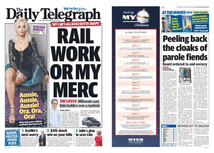 The Daily Telegraph (Sydney) – November 28, 2018