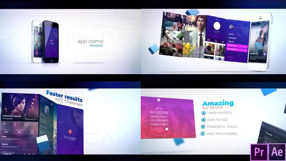 Promotion App - Premiere Pro Template (VideoHive)
