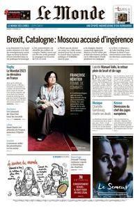 Le Monde du Vendredi 17 Novembre 2017