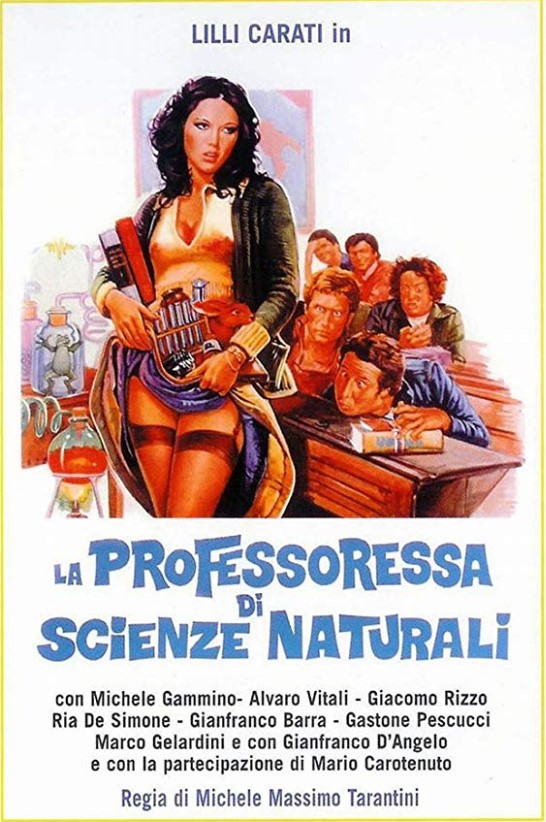 La professoressa di scienze naturali (1976) School Days